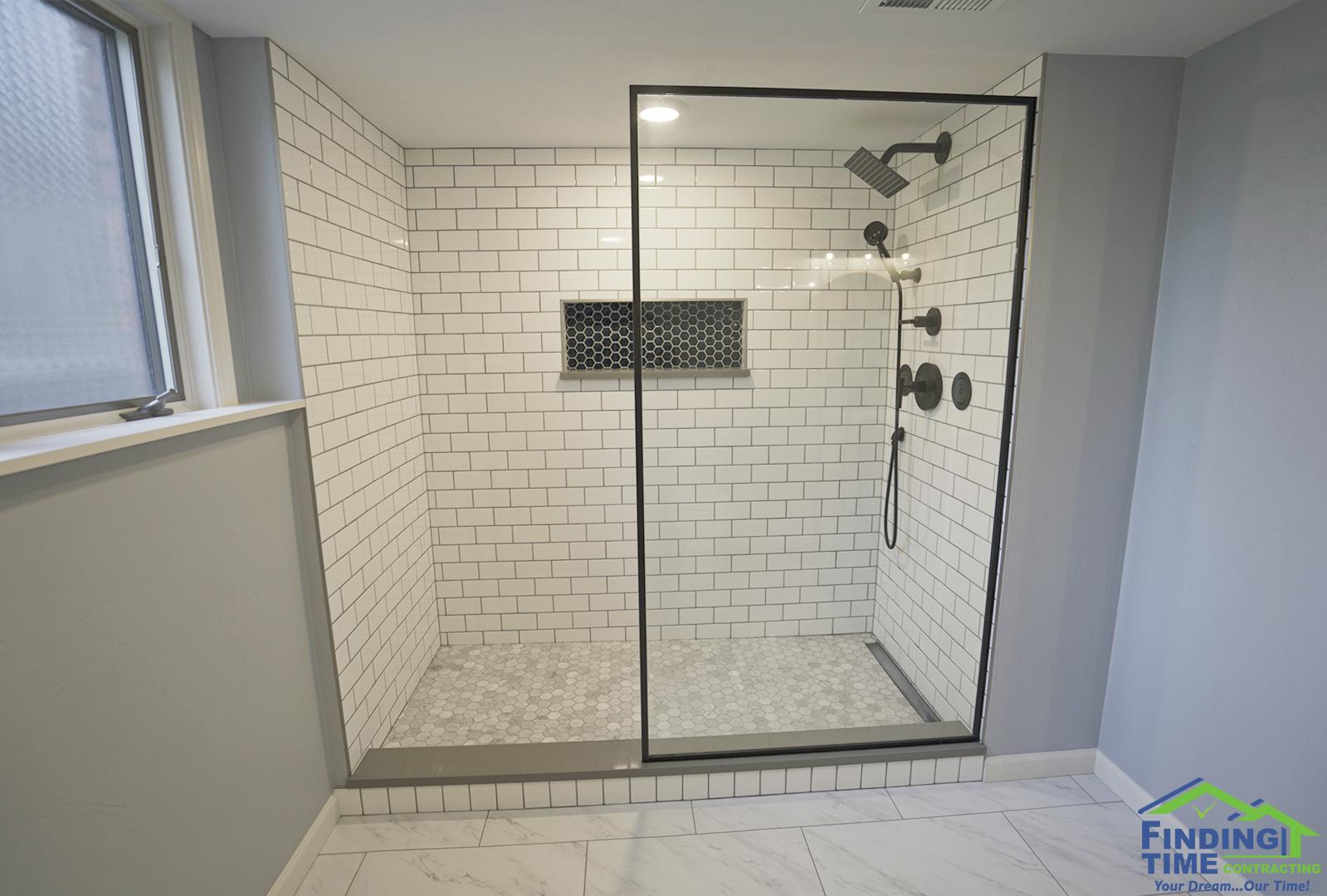 Bathroom hillside
