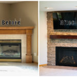 before and after fireplace gallery 1